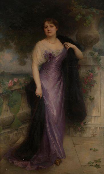 Charles Amable LENOIR (Châtelaillon, 1860-Paris,...