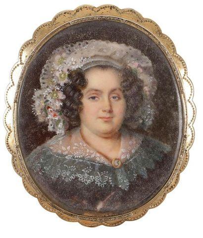 Attribué à Louis-François AUBRY (Paris 1767-1851)...