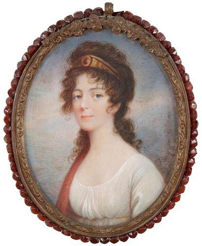 École FRANÇAISE du XIXe siècle Portrait de...