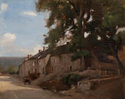 Attribué à Henri Joseph HARPIGNIES (1819-1916)...