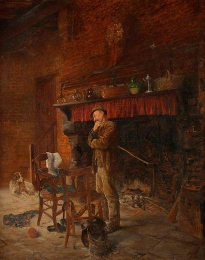 Alphonse GAUDEFROY (Gentilly, 1845-Bréhat,...