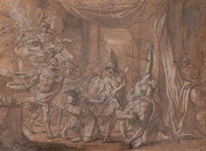 école française du XVIIe siècle Persée et...