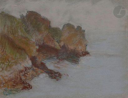 Claude-Émile SCHUFFENECKER (1851-1934) Paysage...