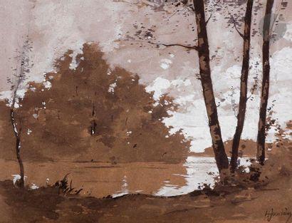 Henri JOURDAIN (1864-1931) Album de dessins...