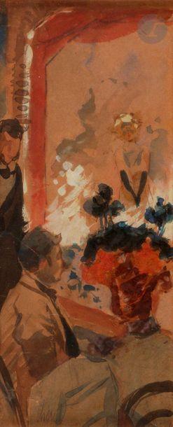 Jules CHÉRET (1836-1932) Yvette Guilbert...