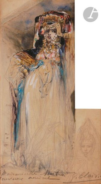 Georges CLAIRIN (1843-1919) Femmes ouled...