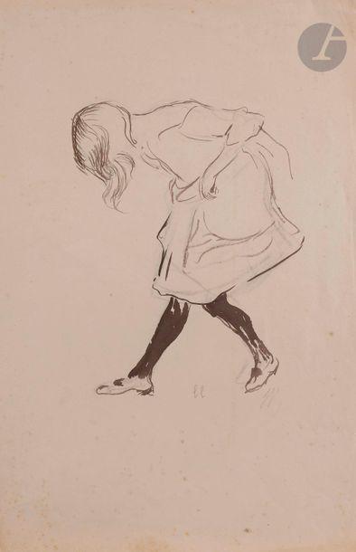 Louis LEGRAND (1863-1951) Jeune fille dansant...