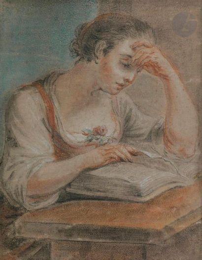 ÉCOLE BOLONAISE du XVIIIe siècle Jeune femme...