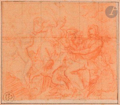 Antoine COYPEL (Paris 1661 - 1722) Scène...