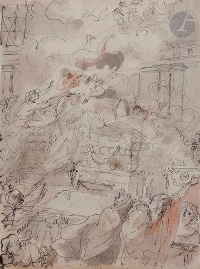 Louis MASRELIEZ (Paris 1747 - Stockholm 1810)...