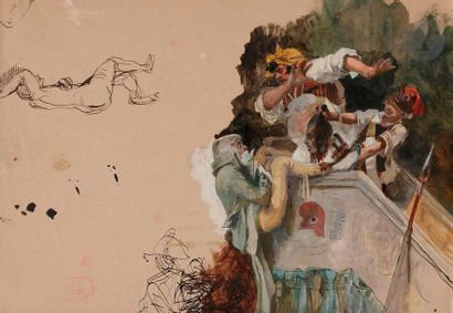 Victor GIRAUD (Paris 1840 - 1871) Boissy...