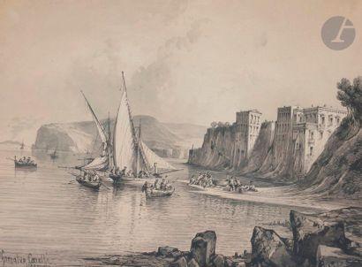 Conzalvo CARELLI (Naples 1818 - 1900) Sorrento...