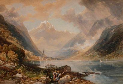 R. H. CATHBERT (actif en Angleterre au XIXe...