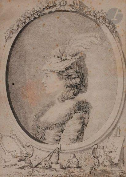 Gabriel de SAINT-AUBIN (Paris 1724 - 1780)...