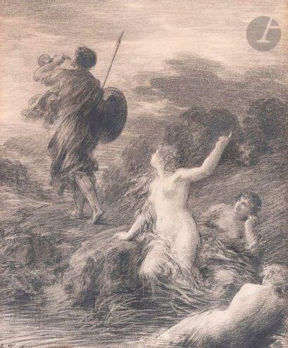 Henri FANTIN-LATOUR (1836-1904) Siegfried...