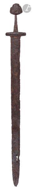 Très rare et grande épée Viking  Forte lame...