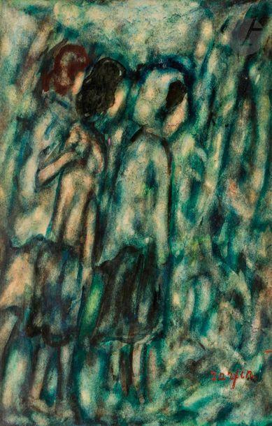Faïbich Schraga ZARFIN (1899-1975) Les Trois...