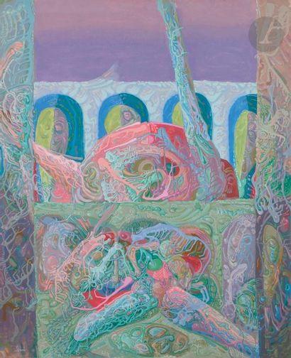 Jacques ARLAND (1929-2018) Composition, 1980-90...