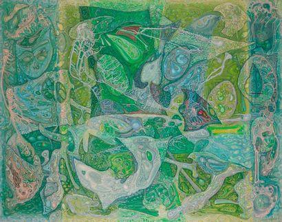 Jacques ARLAND (1929-2018) Swinging birds,...
