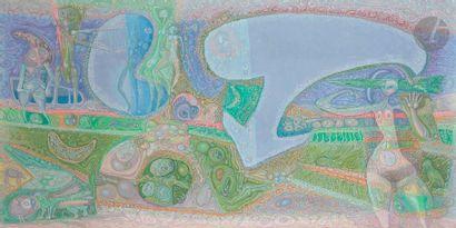 Jacques ARLAND (1929-2018) Composition, 1987...