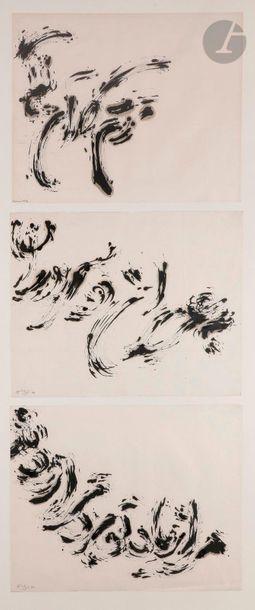 Sadegh BARIRANI [iranien] (né en 1923) Compositions,...