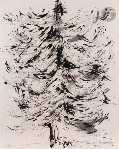 Sadegh BARIRANI [iranien] (né en 1923) L'Arbre...
