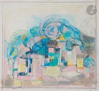 Gustav BOLIN [franco-suédois] (1920-1999)...
