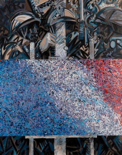 Frédéric BRANDON (né en 1943) Vive la peinture...