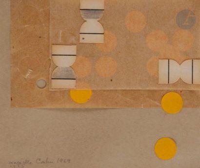 Marcelle CAHN (1895-1981) Composition, 1969...