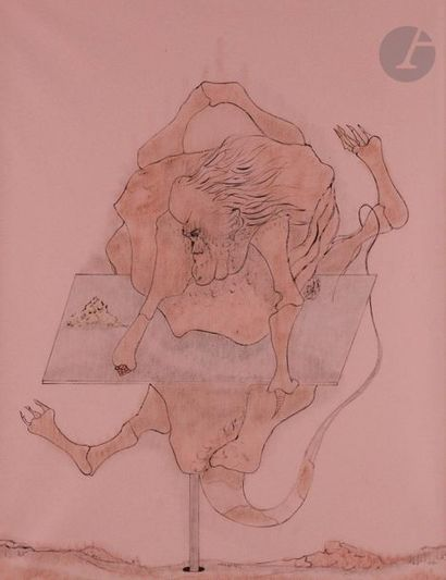 Jorge CAMACHO [cubain] (1934-2011) Composition,...