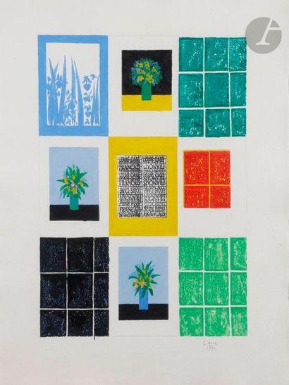 Louis CANE (né en 1943) Composition, 1990...