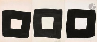 Jean CAPDEVILLE (1917-2011) Étude pour Solstice...