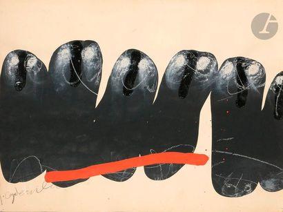 Jean CAPDEVILLE (1917-2011) Composition au...