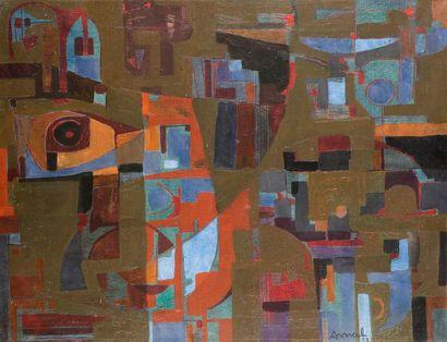 François ARNAL (1924-2012) Composition, 1951...
