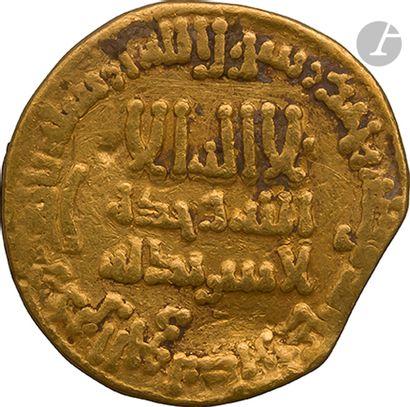 ABBASSIDES Dinar d'or daté 183 H / 799, au...