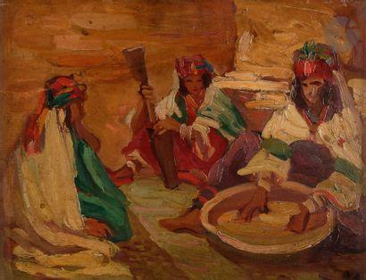 *Alfred DEHODENCQ (1822-1882) Femmes algériennes...