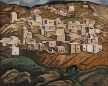André SUREDA (1872-1930) Paysage d'Orient...
