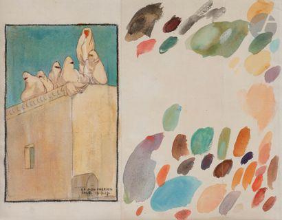 Camille Paul JOSSO (1902-1986) Salé, Maroc,...