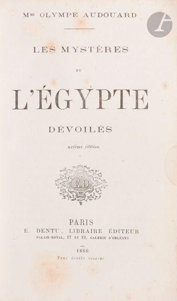 [HISTOIRE DE L'ÉGYPTE] Deux ouvrages: -...