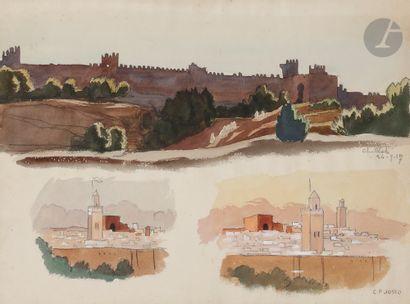 Camille Paul JOSSO (1902-1986) Chellah, 1927...