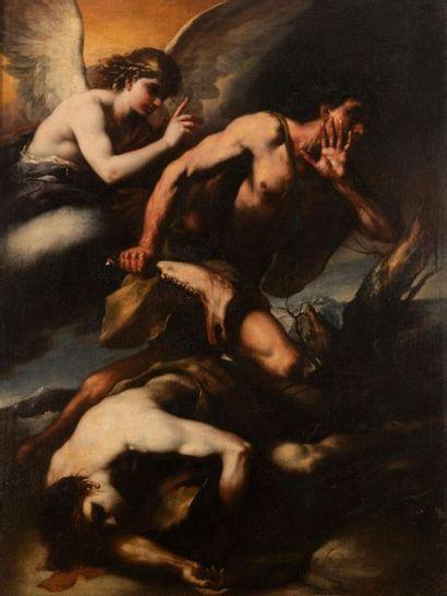 Luca GIORDANO (Naples, 1632-1705) Caïn...