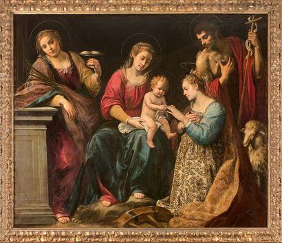 Giuseppe VERMIGLIO (1585-1635) Le Mariage...