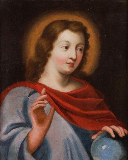 École FRANÇAISE du XVIIe siècle Christ en...