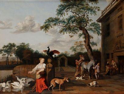 Abraham HONDIUS (Rotterdam, vers 1625-Londres,...