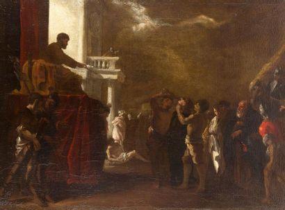 Johann Heinrich SCHÖNFELD (1609-1683) Scène...