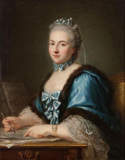 Guillaume VOIRIOT (Paris 1713 - 1799) Portrait...