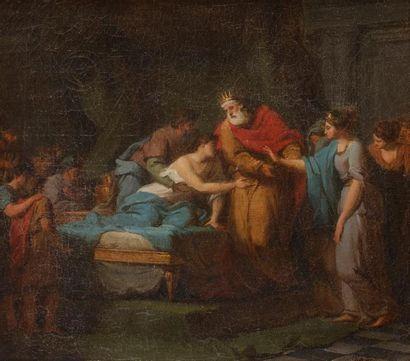 Jean Joseph TAILLASSON (1745-1809) La maladie...
