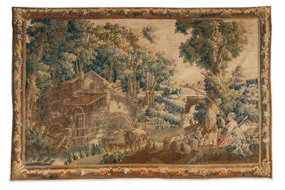 Tapisserie d'Aubusson du XVIIIe siècle à...