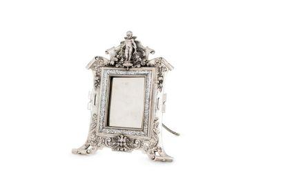 MAISON VEVER CIRCA 1870 - 1880 Miroir à poser...