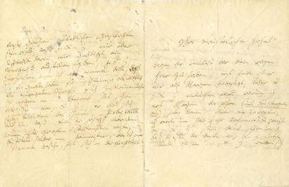 BEETHOVEN Ludwig van (1770-1827). L.A. (la...